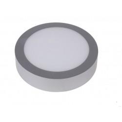 Downlight superficie 18W 6000K Plata